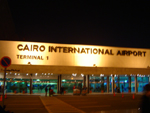 Internationale l'aéroport du Caire